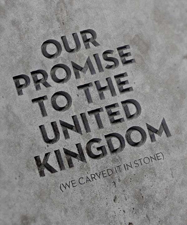 stone, mock up, ap, apg, asset protection group, promise, uk, british