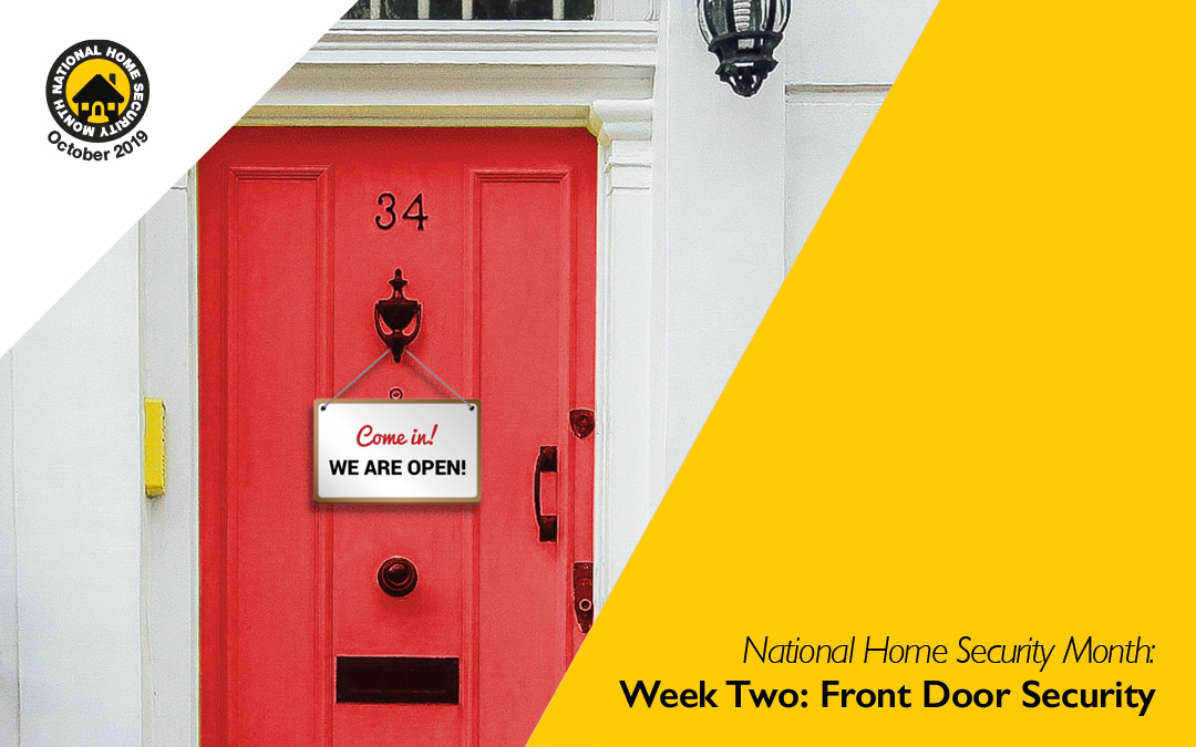 National Home Security Month: Front Door Security