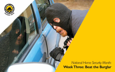 National Home Security Month: Beat the Burglar