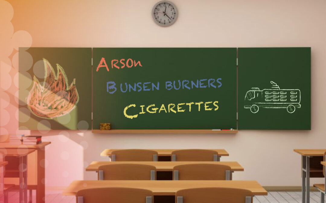 Cannon publishes various arguments for sprinklers in schools